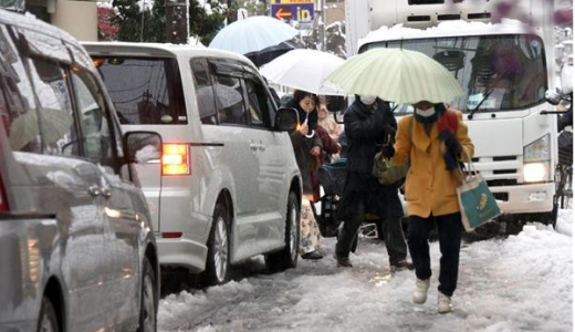 【都内大雪】雪から身を守るために知っておくべき4つポイント